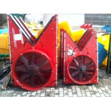 Вентиляторный блок с шахтой